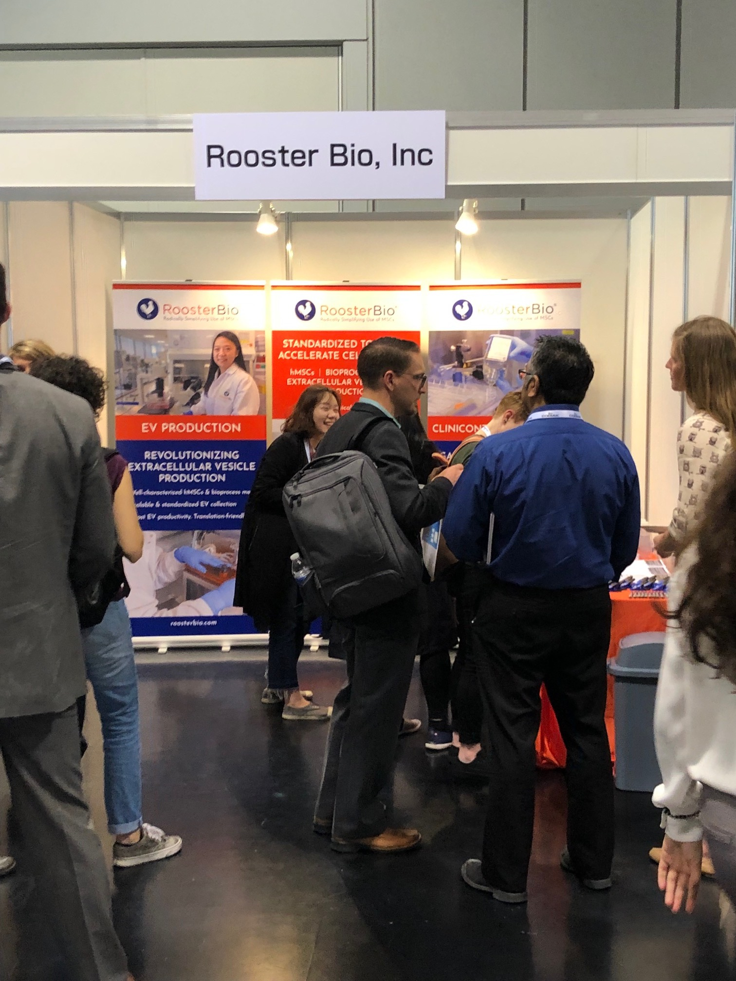 RoosterBio ISEV2019 Booth